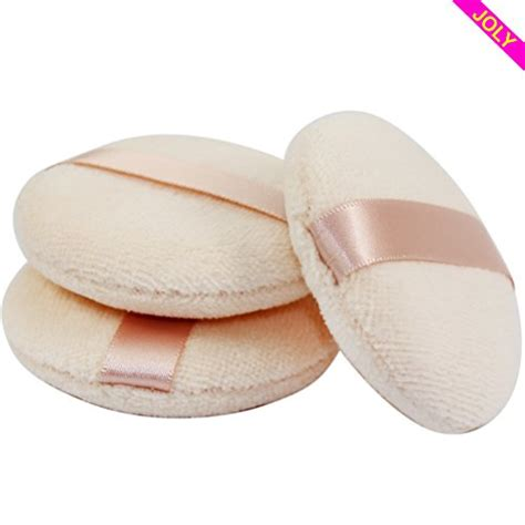 joly powder puff for makeup powder 3 pieces