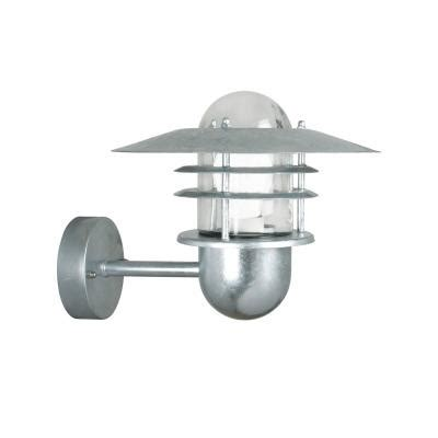 nordlux 74481031 outdoor galvanized steel wall light