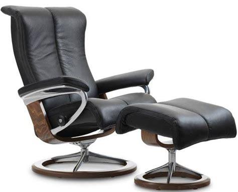 Stressless Piano Legcomfort Power Footrest Recliner Chair