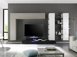 Wall units amusing modern wall units modern wall units for Modern living room tv wall units