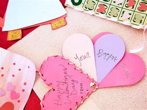 Crafty kids will love making homemade valentine cards for their friends and loved ones. Handmade Valentine's Day Cards   Easy Crafts and Homemade ...