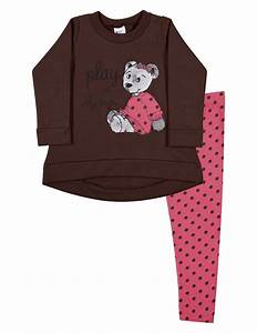 Toddler Girl Outfit Long Sleeve Shirt and Polka Dot ...