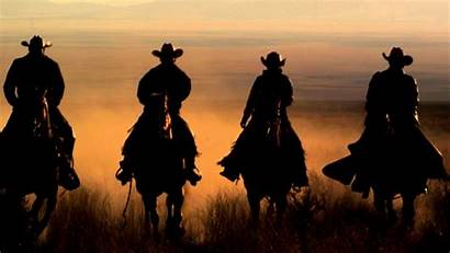 Cowboy Western Desktop Cowboys Riding Slow Shot