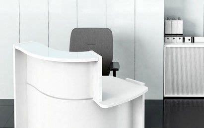 mobilier de bureau professionnel pas cher petit comptoir blanc pas cher