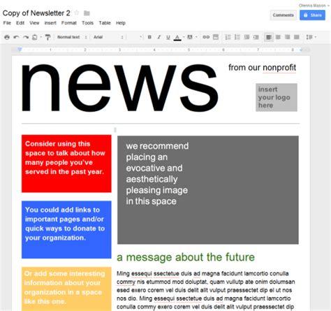 google newsletter docs newsletter template playbestonlinegames