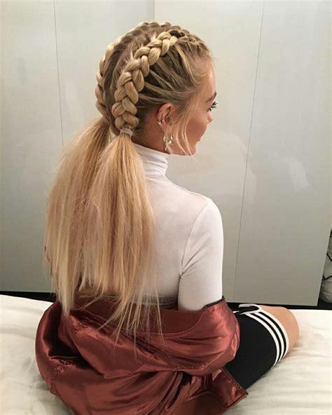 Plait Hairstyles For Hair by ριηтєяєѕт вσηνтα۵ Hα 237 R Lα 237 D Hair Hair Styles