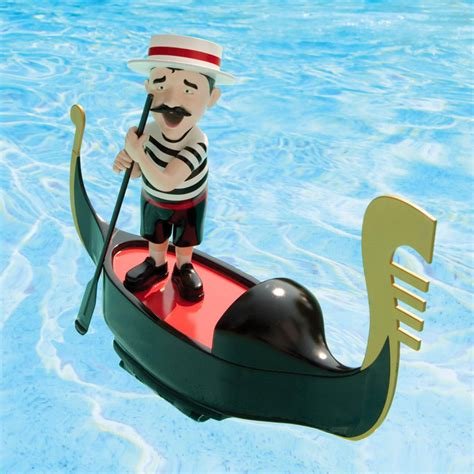 serenading pool gondolier  green head