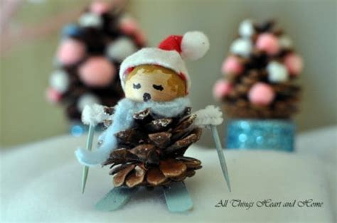 The Chew Templates Pine Cones Animals by 8 Adorable Pine Cone Crafts
