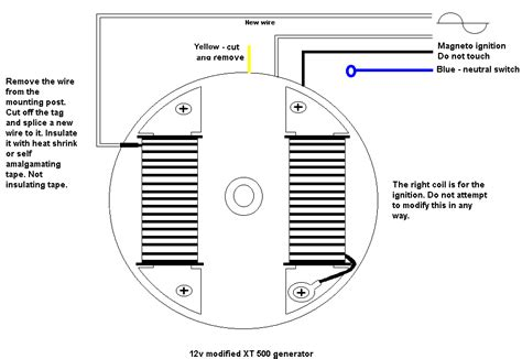 re wind late xt stator for 12 volts page 2 yamaha xt500 tt500 forum
