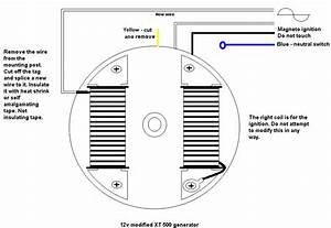 Re-wind Late Xt Stator For 12 Volts  - Page 2