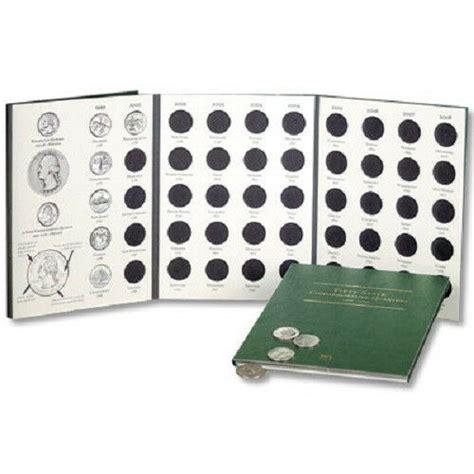 littleton coin folder lcf statehood quarters   ebay