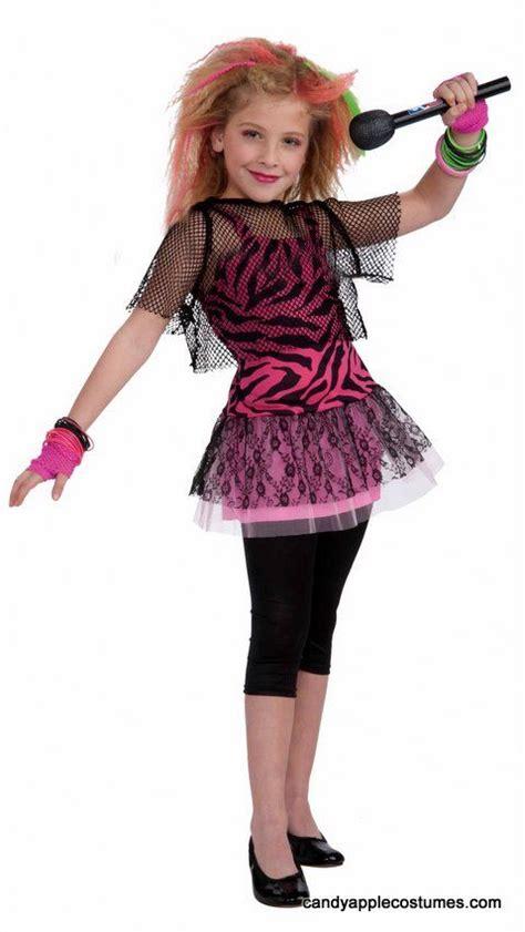 Idea for alaina!...Childu0026#39;s 80u0026#39;s Rock Star Girl Costume - Candy Apple Costumes - Kidsu0026#39; Costumes ...
