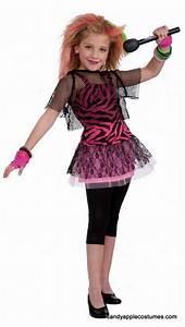 idea for alaina!...Child's 80's Rock Star Girl Costume ...