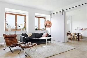 Schiebetür Wohnzimmer Küche : sch nes wohnzimmer mit gro er schiebet r wohnideen einrichten ~ Markanthonyermac.com Haus und Dekorationen