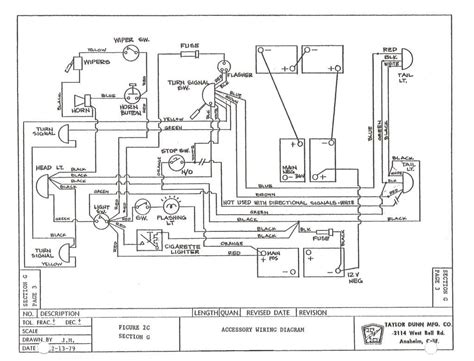 Wiring Diagram For Golf Cart Ezgo Electric