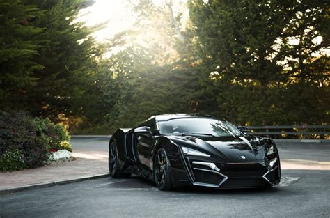 motors lykan hypersport black supercar   uhd