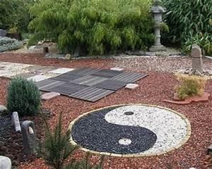 Gravier Decoratif Exterieur : jardin zen ou jardin japonais le petit jardinier ~ Melissatoandfro.com Idées de Décoration