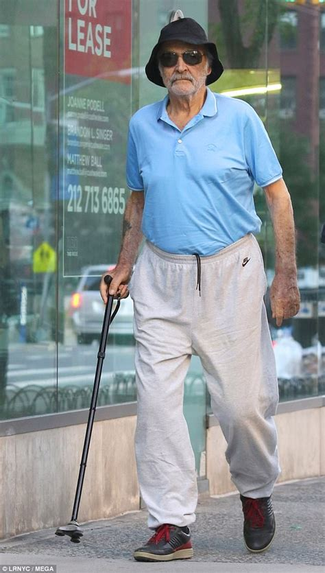 sir sean connery dresses   polo  sweats  nyc