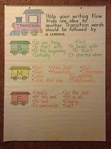 Transition Anchor Charts Pinterest Transition