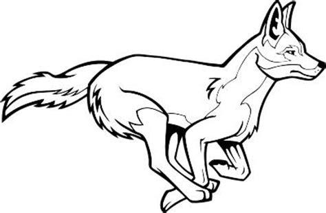 coyote clipart black and white coyote clip cliparts co
