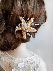 Starfish Hair Clip Starfish Hair Pin Ocean Jewelry