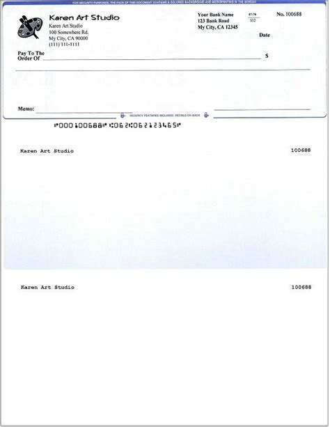 fillable blank business check template danetteforda