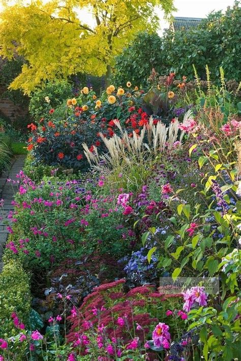 Floral Garden by The Best Perennial Plants For Cottage Gardens