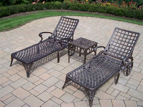 oakland living cast aluminum furniture hewlynn home
