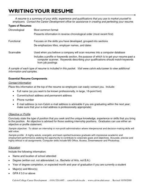What To Add In A Resume Objective by How To Put That You Are Bilingual On Resume Resume Template Exle