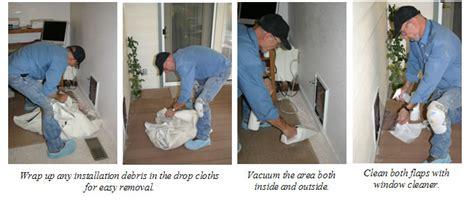 how to install a door in a wall hale pet door installation