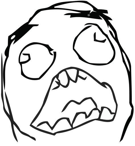 Surprised Meme Face - surprised rage clean