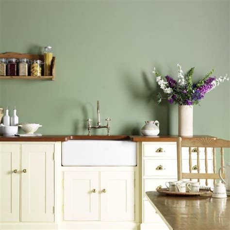 white kitchen wall color 25 best ideas about green kitchen walls on 1417