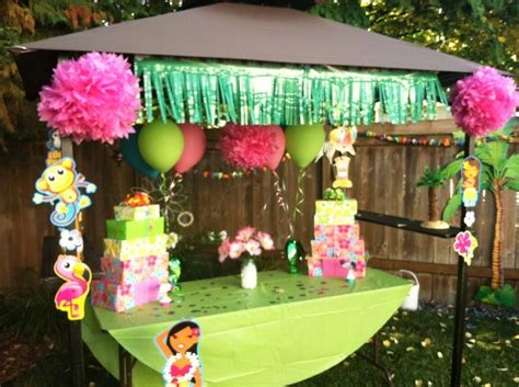 17 best images about luau birthday party on pinterest
