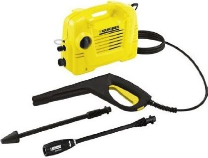 the relevant information from karcher electric pressure washer manual