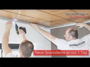 Decke Im Bad Renovieren : download link youtube holzdecken mit spanndecken renovieren montagevideo raumdecken ~ Sanjose-hotels-ca.com Haus und Dekorationen