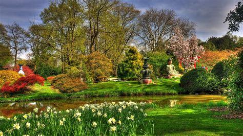 花园壁纸,梦幻花园,欧式花园壁纸_大山谷图库