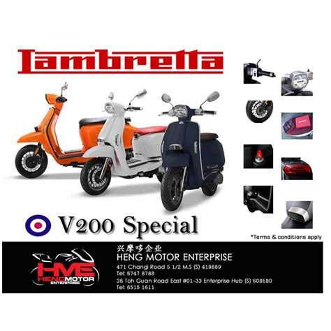 Lambretta V200 Special Hd Photo by Brand New Lambretta V200 Special Motorcycle For Sale