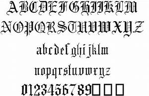 The gallery for --> Medieval Gothic Font