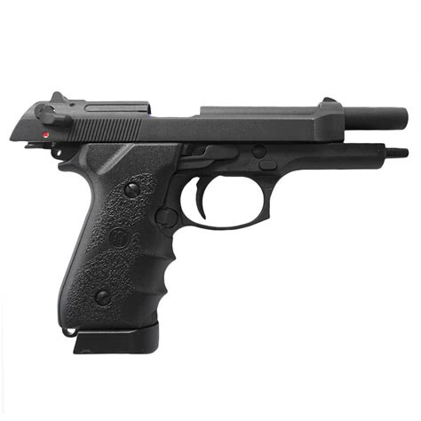 KJ Works M9 Tactical CO2 Airsoft Pistol w/ Grips ...