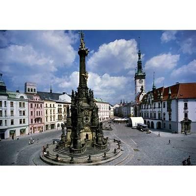 Czech Republic - Holy Trinity Column in Olomouc