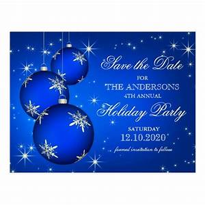 Christmas Or Holiday Party Save The Date Postcards