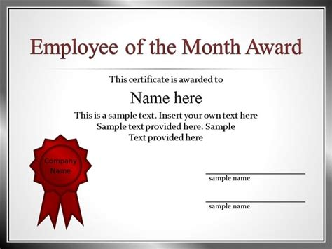 employee recognition template powerpointpptx