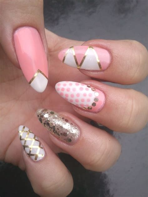 oval nail designs top 35 exclusive oval acrylic nails