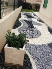 Galet Blanc Decoration Jardin by Best Decoration Jardin Caillou Blanc Contemporary Home