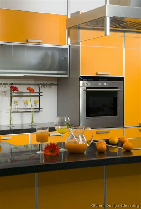 yellow orange kitchen cabinets 66 best images about orange kitchens on modern