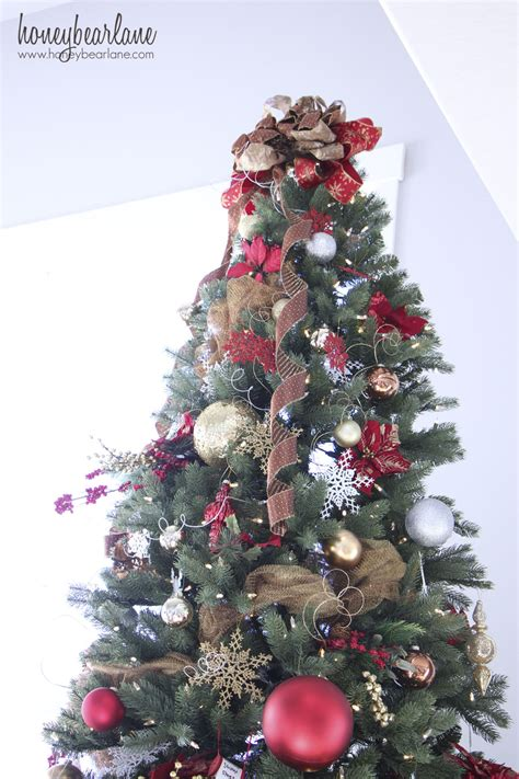 Pretty Tree Toppers by Decorating A 12 Ft Tree
