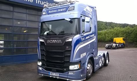 sold    generation  scania commercial motor