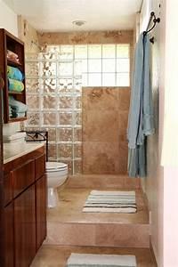 Brique De Verre Couleur : mettons des briques de verre dans la salle de bains ~ Melissatoandfro.com Idées de Décoration