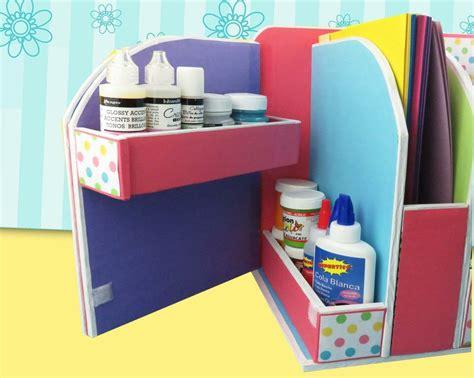diy beautiful desk organizer  cardboard art craft