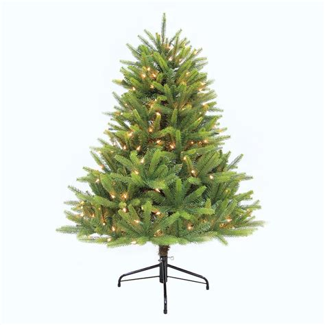 7 5 ft evergreen quick set artificial christmas tree with